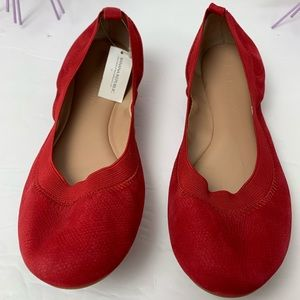 Banana Republic, Abby / Red Ballet Flats